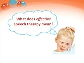 effective speech therapy, autism workshop