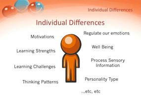individual differences, autistic child, successful speech therapy