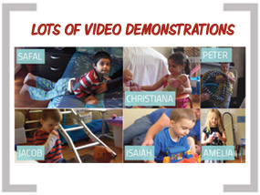 MMonique autism client video demonstrations